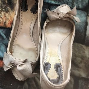 Chloe loafer-style heels